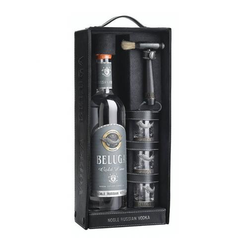 Vodka Beluga Gold Line w/Set