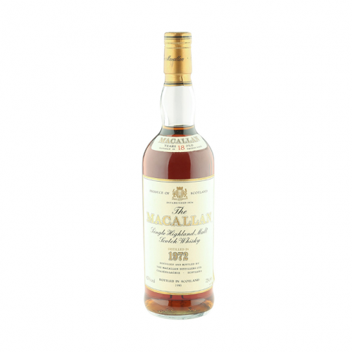 Macallan 18 Years 1972 without box